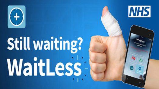 NHS WaitLess app