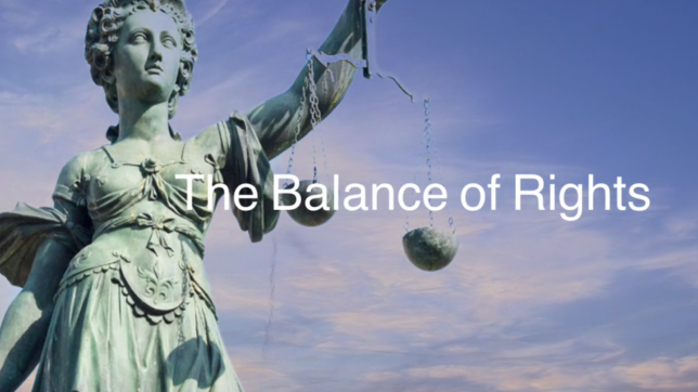 The Balance of Rights (2018)